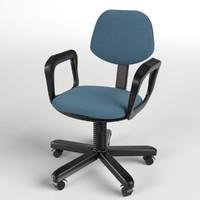 3d office chair 4 model