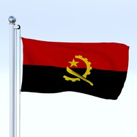Animated Angola Flag