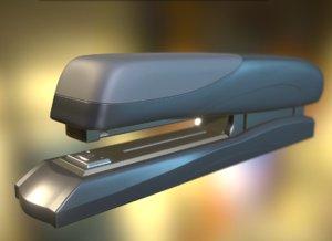 3d highpoly stapler