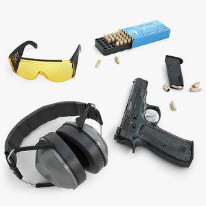 3d cz 85 ear protection