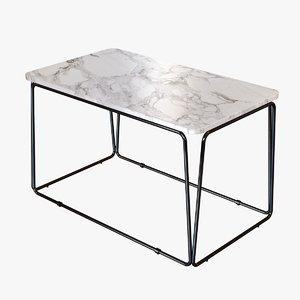 3d model of table anya