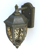 lantern garden 3d model