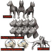 obj pitbull souvenir monuments