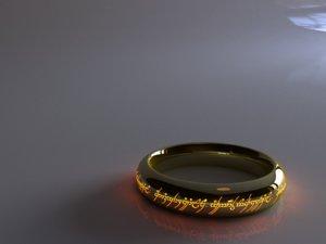 3d model lord rings