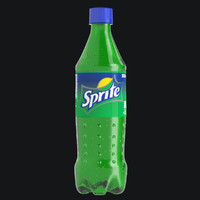 0.5 L Sprite with Studio Setup