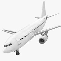 airbus a310-300 generic 3d model