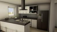 kitchen appliances - ready 3d max