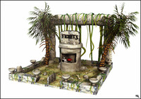 Roller Coaster Jungle Ticket Booth