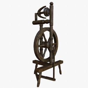 3d wheel spinning