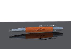 3d pencil e-motion pen model