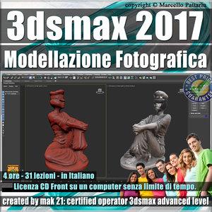 050 3ds max 2017 Modellazione Fotografica vol. 50 CD front