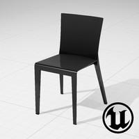 3d unreal molteni alfa chair model