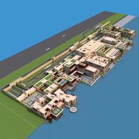 3d max dubai building