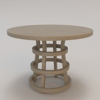 ile table christian liaigre 3d model