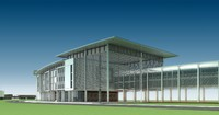 architecture building modern 001