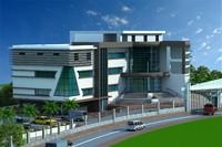 3d administration building model
