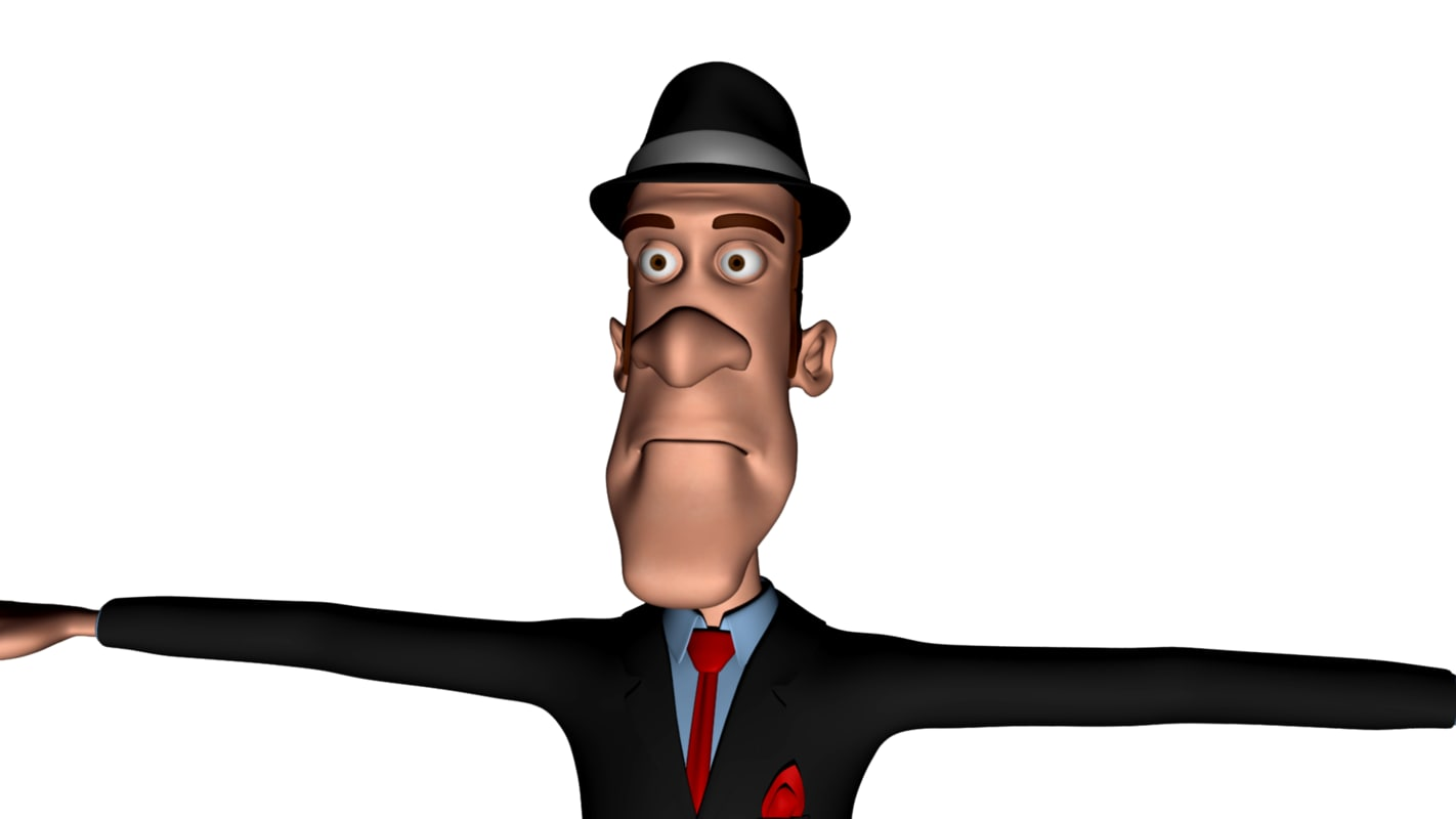 max cartoon man guy