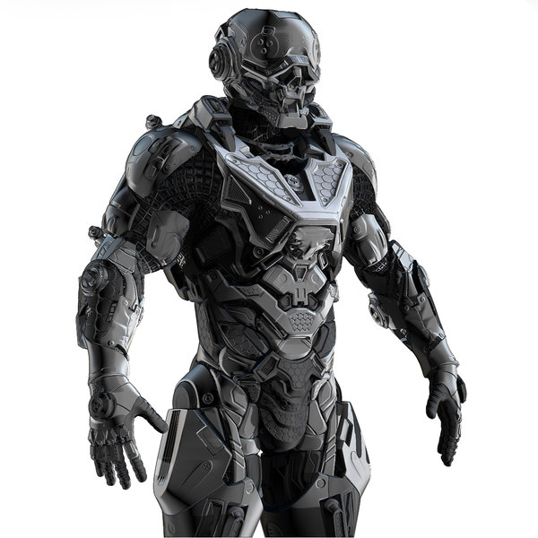 cybernetist zbrush 3ds