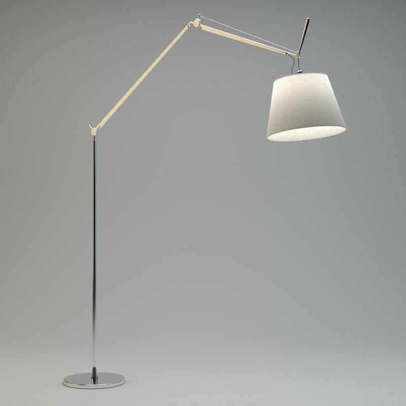 tolomeo floor lamp 3d max
