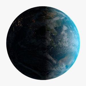 photorealistic earth 32k atmosphere 3d model