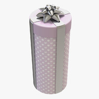 cylinder gift 3ds