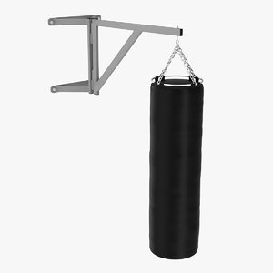 punching bag 3d model