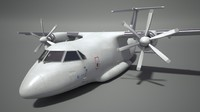 il-112 aircraft 3d model