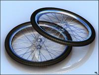 bike tire 3d fbx