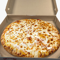 Cheese Pizza with Box