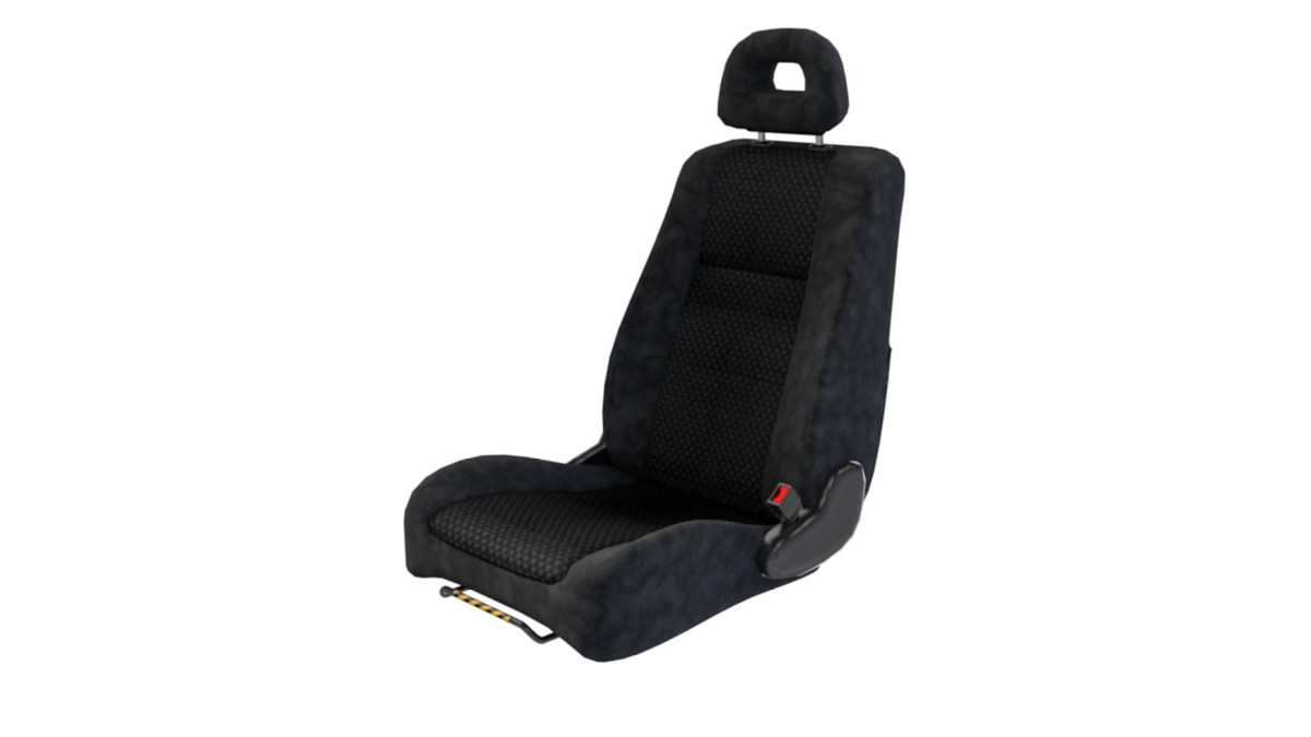 3d lancer car seat