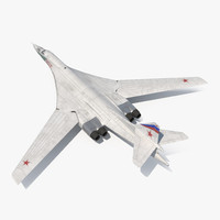 Strategic Bomber Tupolev Tu-160 Blackjack