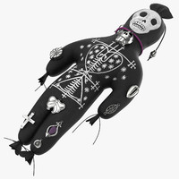 voodoo doll 02 obj