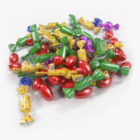 Colorful Candy Pile