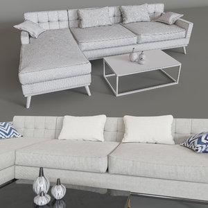 3d model sofa moscow