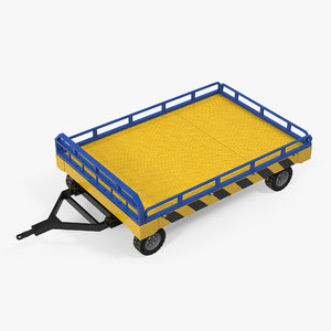 airport transport trailer bed max