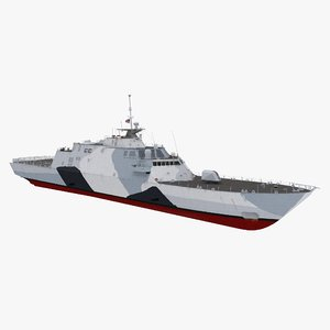 3d max lcs-1 uss freedom littoral combat