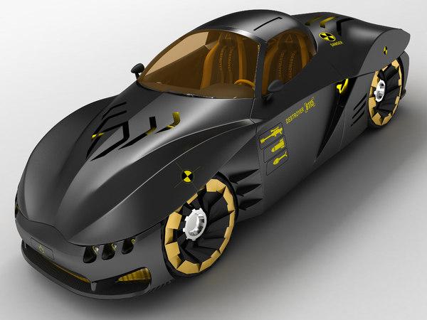 coupe concept 3d model