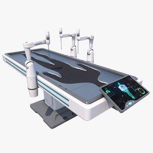 max sci fi medical robot