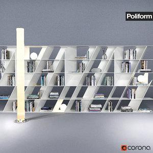3d poliform - librerie web