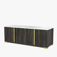 oslo sideboard holly hunt 3d max