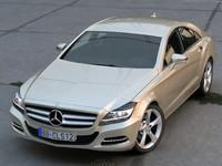 3d model mercedes cls 2012