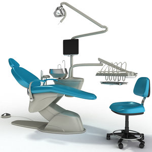 3d dentist chair