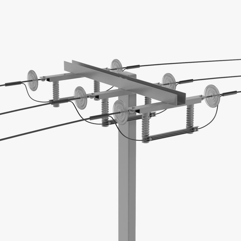3d electric line