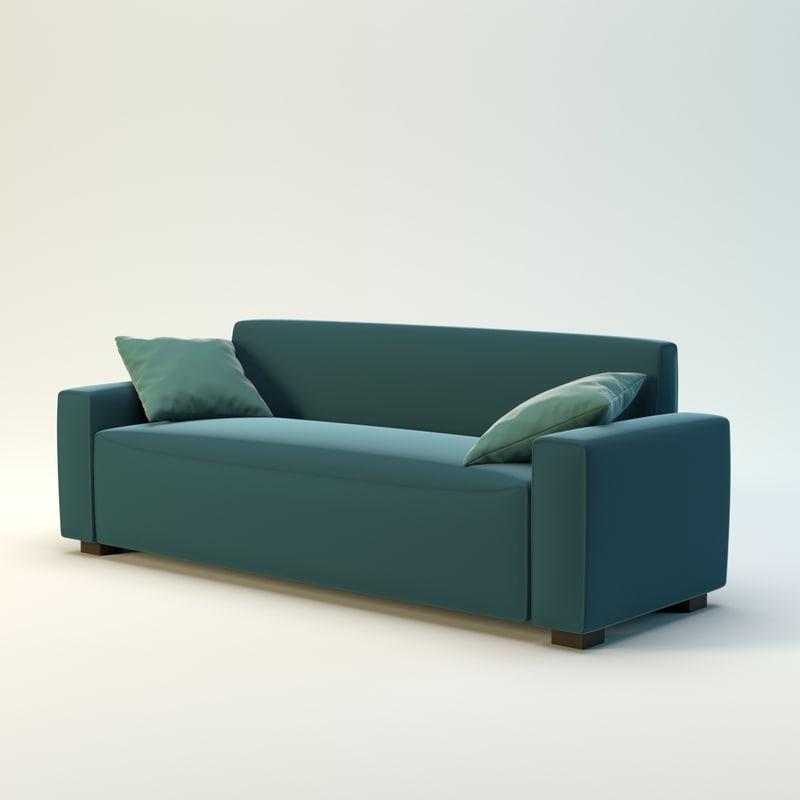 3d sofa designer model