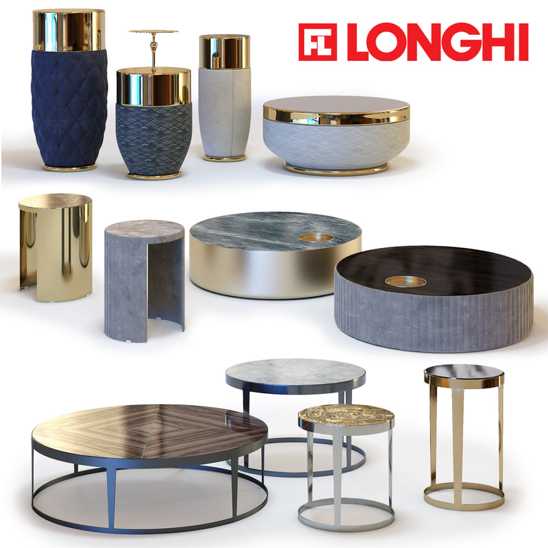 max fratelli longhi coffee tables
