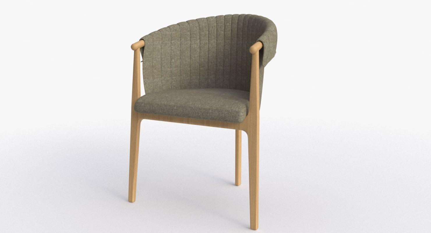 3d obj agnieszka pikus chair classic