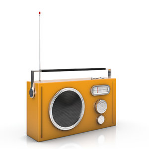 cartoon radio - 3d x