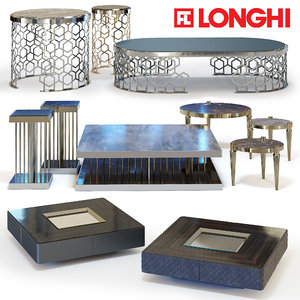 3d fratelli longhi coffee tables