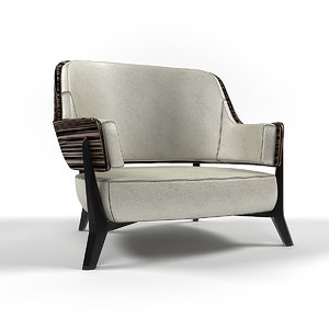 lounge armchair 3d max