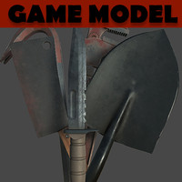 melee weapons pack 3d fbx
